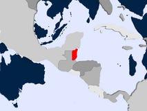 Översikt av Belize Arkivbilder