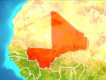 Översikt av Mali Royaltyfria Bilder