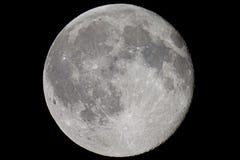 Översikt av moonen Royaltyfri Bild