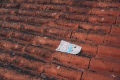 Översikt av Porto på taket arkivbilder