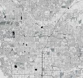 Översikt av staden av Las Vegas, Nevada, USA vektor illustrationer