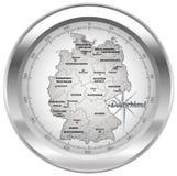 Översikt av Tyskland Arkivbild