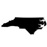 Översikt av Uen S statliga North Carolina Royaltyfria Foton