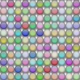 ?versikt f?r bakgrund f?r boll f?r frostat exponeringsglas vektor illustrationer