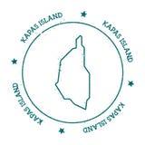 Översikt för Kapas övektor royaltyfri illustrationer