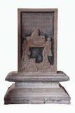 Översikt för sång för ackord för kongsheng för sten för Yunnan Honghe prefekturJianshui tempel Royaltyfria Foton