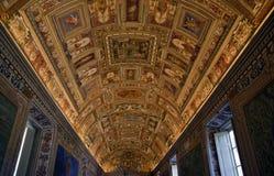 översiktsmuseumrome lokal vatican Royaltyfri Fotografi