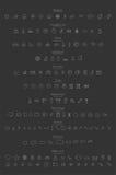 Översiktssymbolsuppsättning Arkivbilder