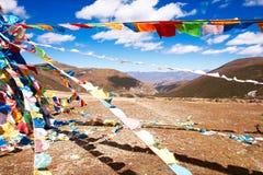 Överst av berget Bowa Royaltyfri Fotografi