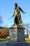 Överste William Prescott Bunker Hill Monument arkivfoto