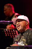 Översvämma Dogg, den amerikanska soulmusikmusikbandet, kapacitet på Bartsetappen Arkivbilder