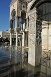översvämmar venice Royaltyfri Fotografi