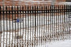 översvämmar york Royaltyfria Foton