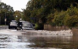 översvämmat Royaltyfri Bild