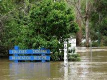 översvämning för 3 Australien Arkivfoton