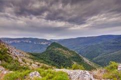 Överträffa av berg Royaltyfri Fotografi
