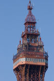 Överträffa av Blackpoolen står hög Royaltyfria Bilder