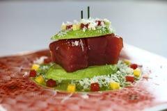 Överträffad tonfisk royaltyfri foto