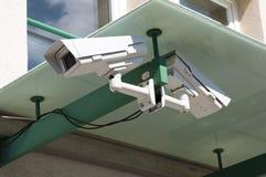 Övervakningkameror Arkivfoto