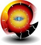 Övervakningläkarundersökningteknologier stock illustrationer