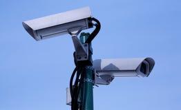 övervakningvideo royaltyfri fotografi