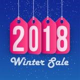 Övervintra Sale begreppsshopping och affärsbefordran, 2018 år Fotografering för Bildbyråer