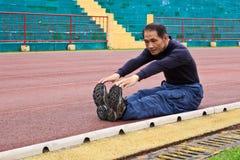 övningar som upp kör varmt Fotografering för Bildbyråer
