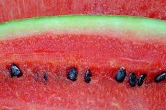 Övre bild för rött vattenmelonslut Royaltyfria Foton