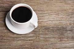 Övre bild för slut av kaffe Fotografering för Bildbyråer