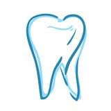 Övre bild för tand- tandslut Royaltyfri Foto