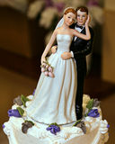 övre bröllop Arkivbilder
