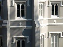 Övre detalj för generiskt slut för viktoriansk arkitektur Royaltyfri Fotografi