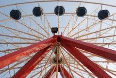 övre hjul för ferris Fotografering för Bildbyråer