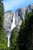 Övre- och lägre Yosemite Falls, Yosemite, Yosemite nationalpark Royaltyfri Bild