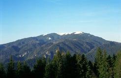 övre sikt för 2 berg Royaltyfri Fotografi
