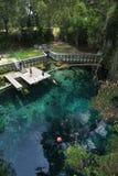 övre sikt för blå grotto Royaltyfri Bild