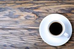 övre sikt för kaffe Royaltyfri Bild
