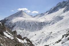 övre sikt för montseny montserrat berg Royaltyfria Bilder