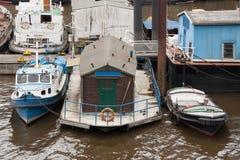 Övre sikt för slut av en hamn Royaltyfri Bild