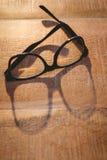 Övre sikt för slut av hipsterexponeringsglas Arkivfoto
