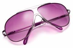 övre sikt för solglasögon Arkivfoto
