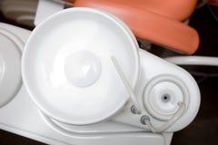 övre sikt för tand- utrustning Royaltyfri Bild