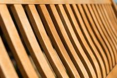 Övre sikt för träbänkslut Många remsor fotografering för bildbyråer
