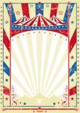 övre tricolor för stor gammal affisch stock illustrationer
