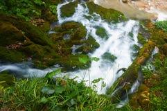 övre vattenfall Royaltyfri Bild