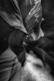 Övreantilopspringakanjon i sidan, Arizona Arkivbild