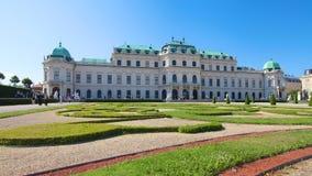 ÖvreBelvedere royaltyfri fotografi