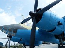 ÖvrePyshma, Ryssland - Juli 2, 2016: Den sovjetiska prövkopian för dykbombplan Pe-2 av 1941 Royaltyfri Foto