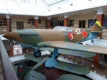 ÖvrePyshma, Ryssland - Juli 02, 2016: Inre av museet av militär utrustning Royaltyfri Fotografi