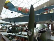 ÖvrePyshma, Ryssland - Juli 02, 2016: Inre av museet av militär utrustning Royaltyfria Bilder